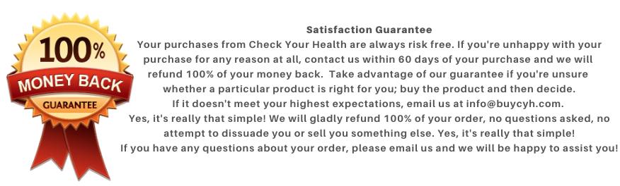 """Check Your Health Guarantee"""